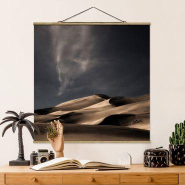 Foto su tessuto da parete con bastone - Colorado Dunes - Quadrato 1:1