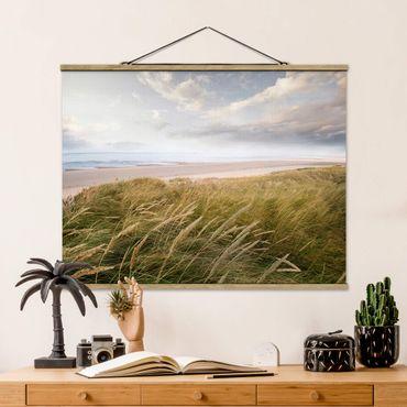 Foto su tessuto da parete con bastone - dune di sogno - Orizzontale 3:4