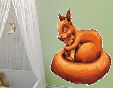 Adesivo murale Mommy Squirricorn