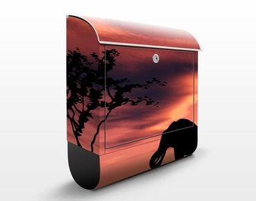 Cassetta postale African Elephant Family 39x46x13cm