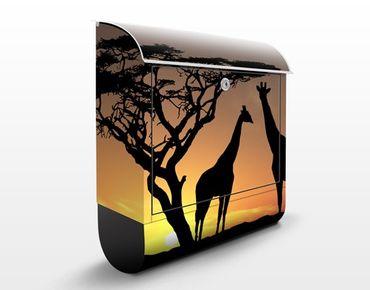 Cassetta postale African Sunset 39x46x13cm