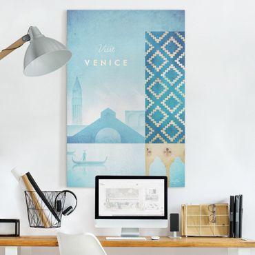 Stampa su tela - Poster viaggio - Venezia - Verticale 3:2