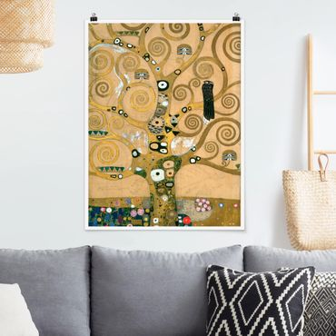 Poster - Gustav Klimt - Tree Of Life - Verticale 4:3