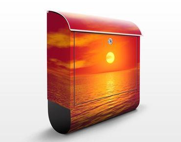 Cassetta postale Beautiful Sunset 39x46x13cm