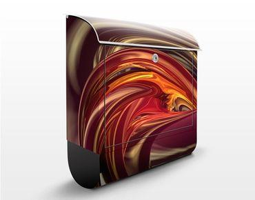 Cassetta postale Fantastic Burning 39x46x13cm