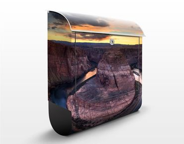 Cassetta postale Colorado River Glen Canyon 39x46x13cm