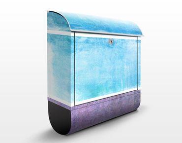 Cassetta postale Colour Harmony Blue 39x46x13cm