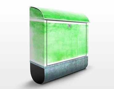 Cassetta postale Colour Harmony Green 39x46x13cm