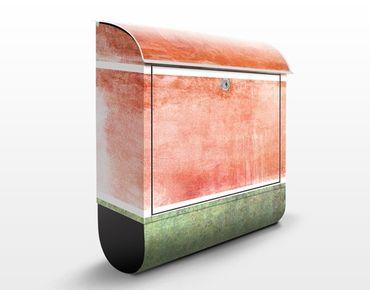Cassetta postale Colour Harmony Red 39x46x13cm