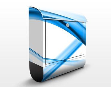 Cassetta postale Blue Element No.2 39x46x13cm