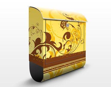 Cassetta postale design Cherry Blossom II 39x46x13cm