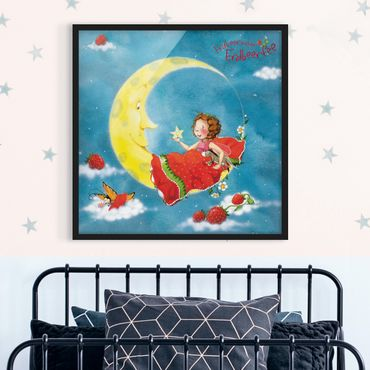 Poster con cornice - The Strawberry Fairy - Sweet Dreams - Quadrato 1:1
