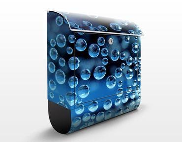 Cassetta postale Dark Bubbles 39x46x13cm