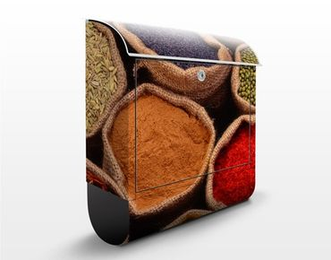 Cassetta postale Colourful Spices 39x46x13cm