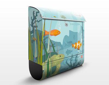 Cassetta postale no.EK57 Underwater Landscape 39x46x13cm