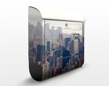 Cassetta postale Morning In New York 39x46x13cm