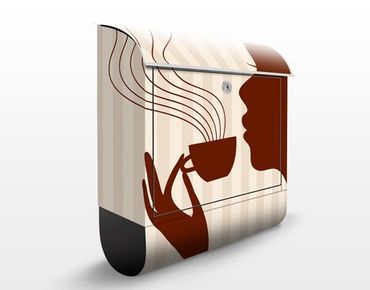 Cassetta postale Hot Coffee 39x46x13cm