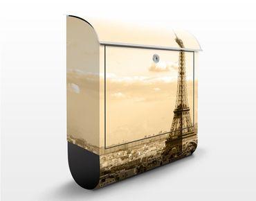 Cassetta postale Love Paris 39x46x13cm