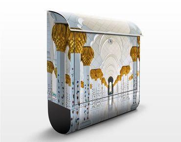 Cassetta postale Mosque In Abu Dhabi 39x46x13cm