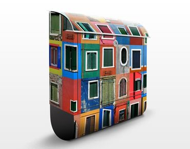 Cassetta postale Windows Of The World 39x46x13cm