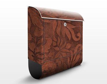 Cassetta postale Leather Structure 39x46x13cm