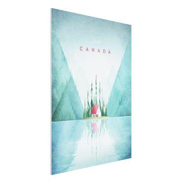 Stampa su Forex - Poster di viaggio - Canada - Verticale 4:3
