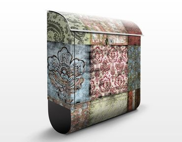 Cassetta postale Old Patterns 39x46x13cm