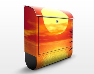 Cassetta postale Caribbean Sunset 39x46x13cm