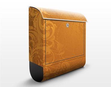Cassetta postale Golden Baroque 39x46x13cm