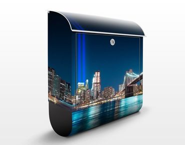 Cassetta postale Lights Of The World Trade Center 39x46x13cm