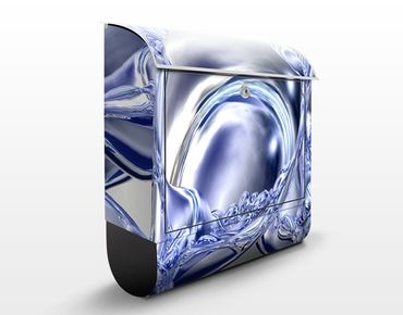 Cassetta postale Liquid Smoke 39x46x13cm