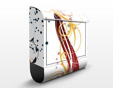 Cassetta postale Fragile bubbles 39x46x13cm