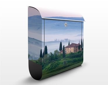 Cassetta postale Sunrise In Tuscany 39x46x13cm
