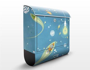 Cassetta postale no.MW16 Colorful Space Ado 39x46x13cm
