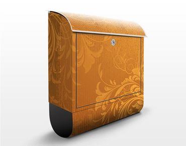 Cassetta postale Golden Flora 39x46x13cm