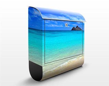 Cassetta postale Paradise Beach 39x46x13cm