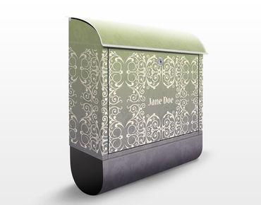 Cassetta postale no.EK420 Personalizzata Florales Bandeau 39x46x13cm