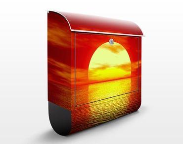 Cassetta postale Fantastic Sunset 39x46x13cm