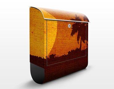 Cassetta postale Sunrise Indochina 39x46x13cm