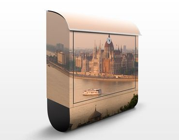 Cassetta postale Budapest Skyline 39x46x13cm