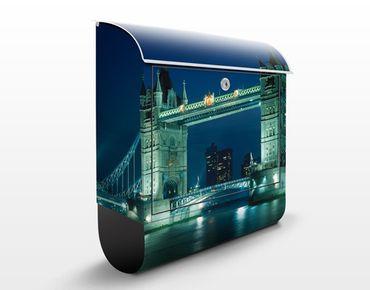 Cassetta postale Tower Bridge 39x46x13cm