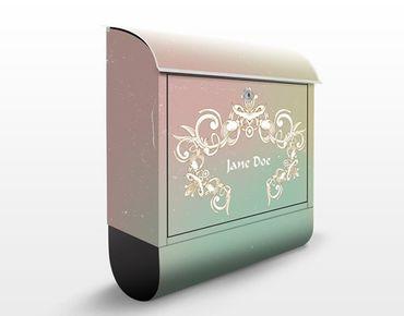 Cassetta postale no.EK426 Personalizzata Graviertes Ornament 39x46x13cm