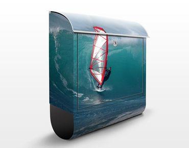 Cassetta postale The Surfer 39x46x13cm