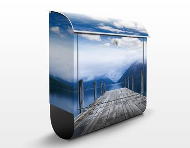 Cassetta postale Nelson Lakes National Park 39x46x13cm