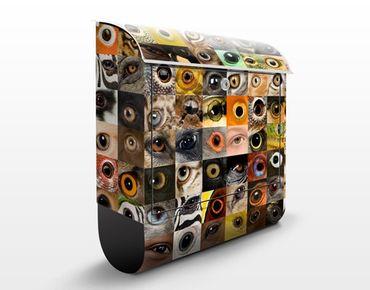 Cassetta postale Eyes of the World 39x46x13cm