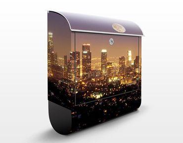 Cassetta postale L.A. Nights 39x46x13cm