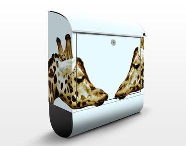 Cassetta postale Giraffes In Love 39x46x13cm