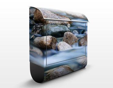 Cassetta postale River In Canada 39x46x13cm