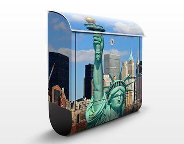 Cassetta postale New York Skyline 39x46x13cm