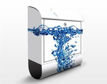 Cassetta postale Fresh Blue Water 39x46x13cm